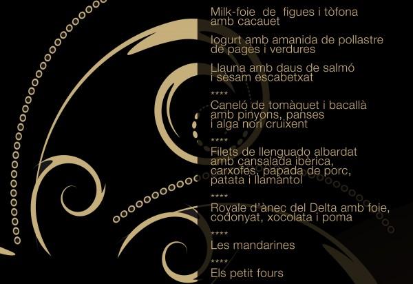 Menú Bistronòmic 2014