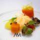 Holandesa de galera amb diferents textures de verdures