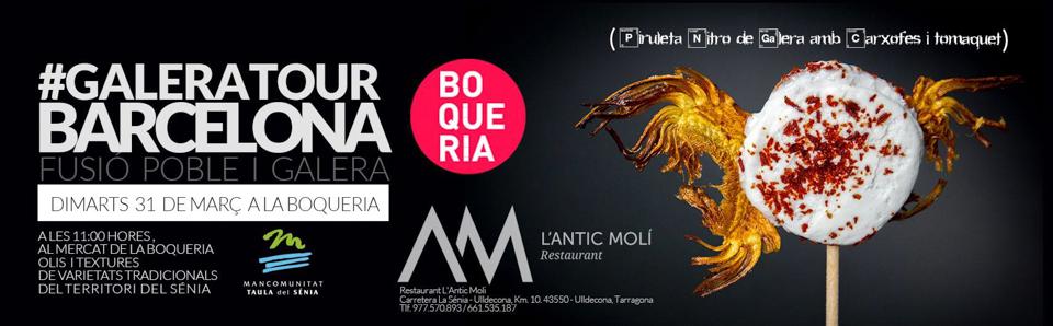 La Boqueria-Antic Moli-Galera Tour