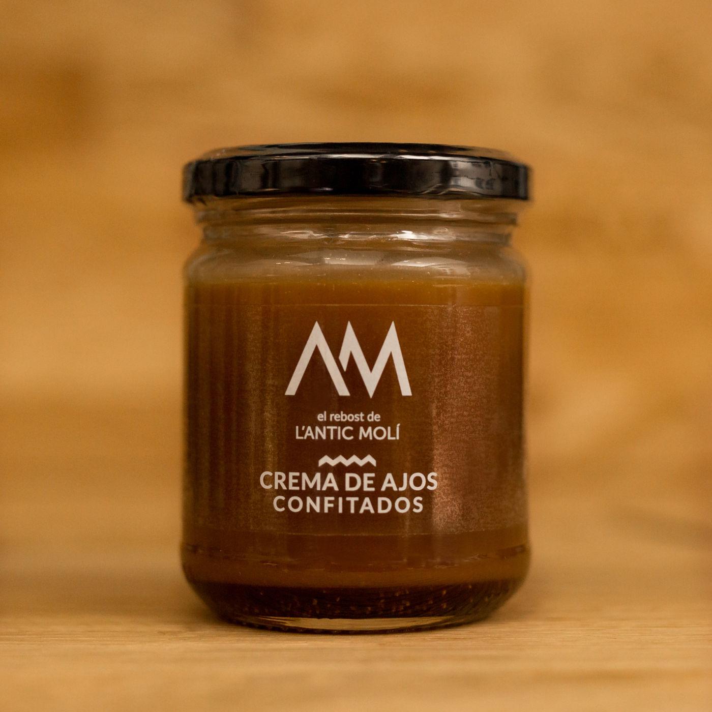 crema de ajos confitados-rebost antic moli