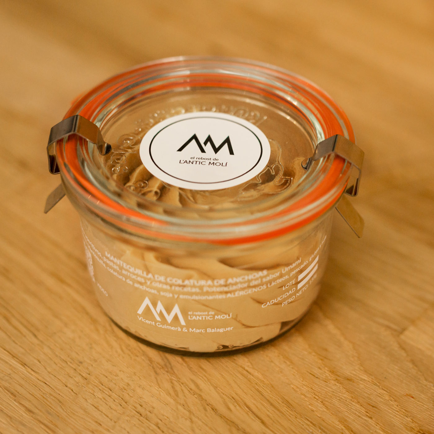 mantequilla de coladura de anchoas-rebost antic moli-1