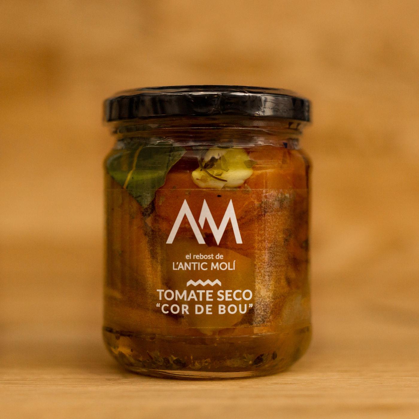 tomate seco cor de bou-rebost antic moli